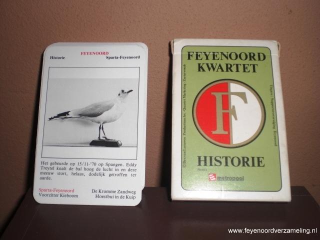 Feyenoord historie kwartet