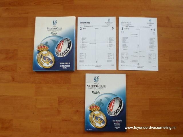Supercup Real Madrid - Feyenoord