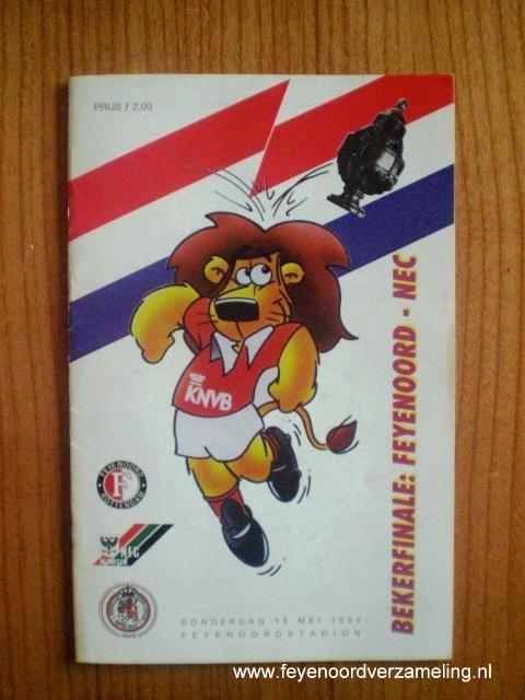 Bekerfinale Feyenoord - NEC