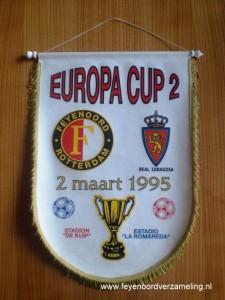 Feyenoord - Real Zaragoza 1995