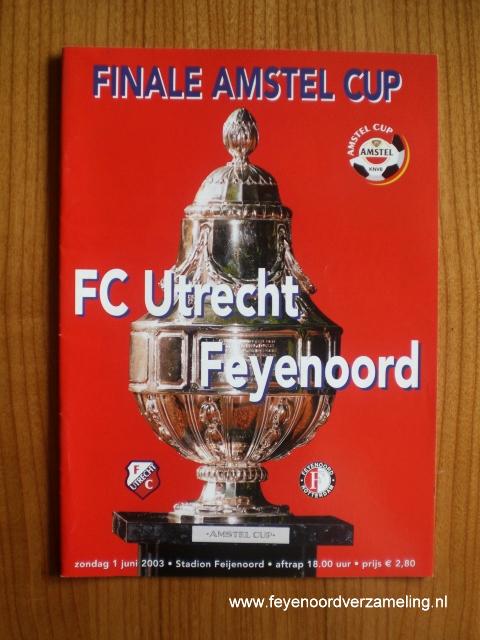 Bekerfinale FC Utrecht - Feyenoord