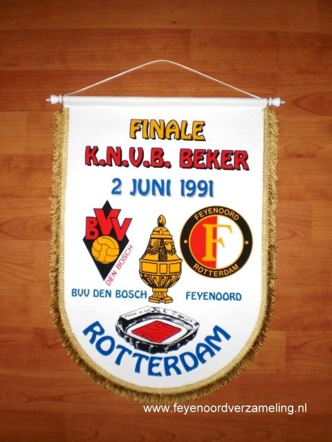 Bekerfinale BVV Den Bosch - Feyenoord 1991