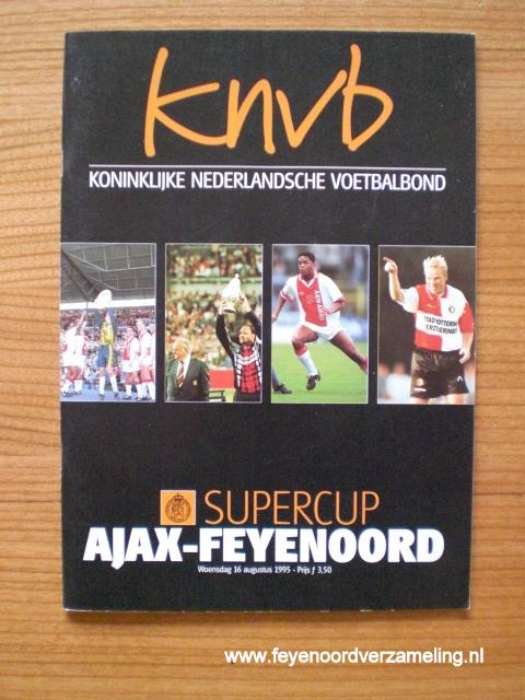 Programma Ajax - Feyenoord Supercup