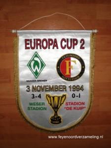 Feyenoord - Werder Bremen 1994