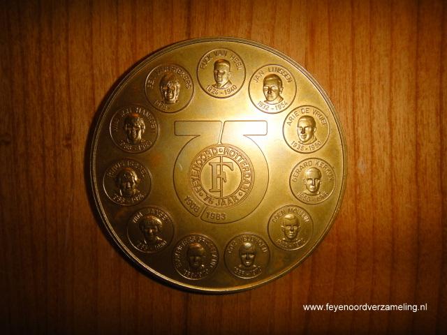 Penning 75 jaar Feyenoord