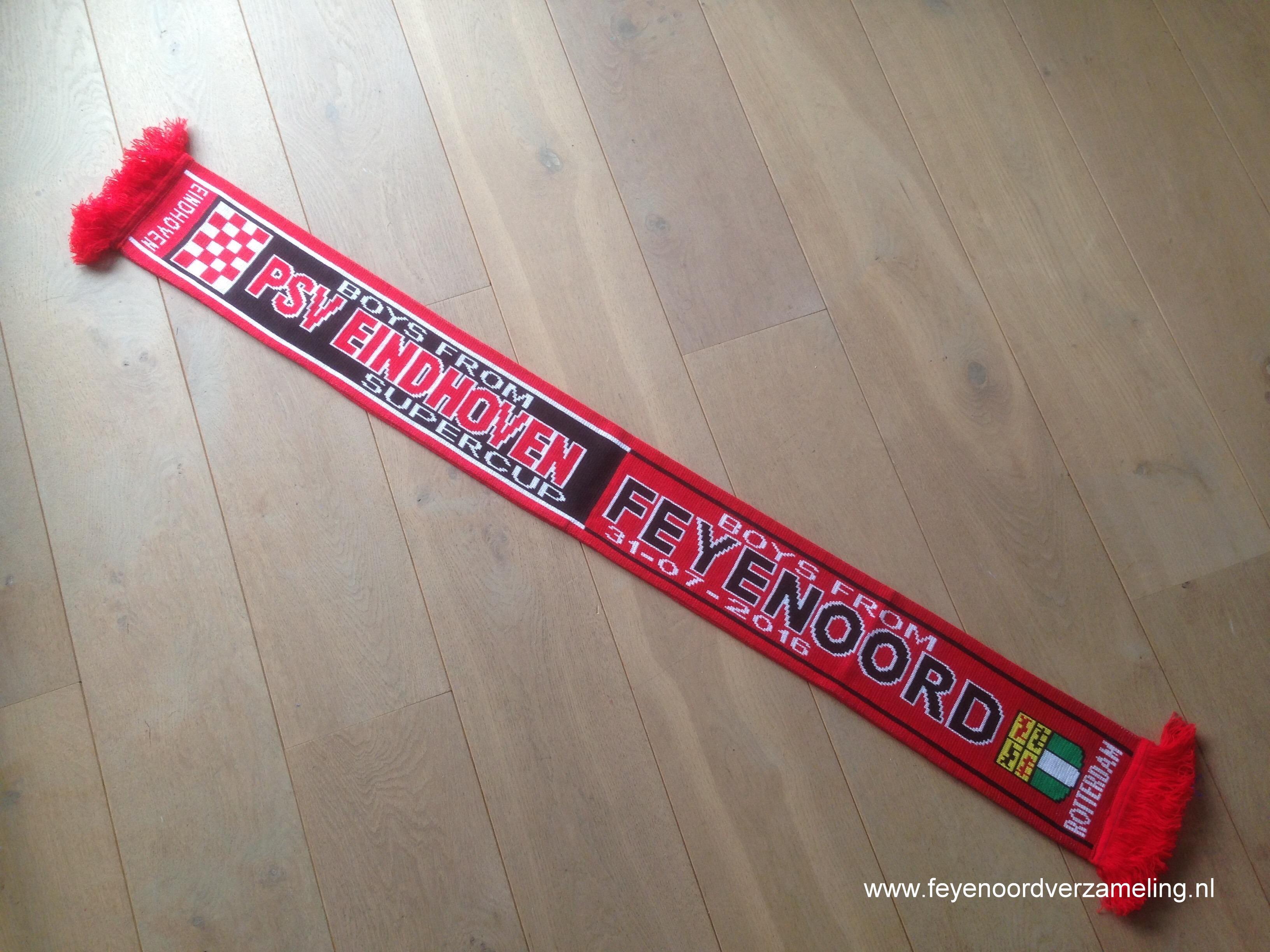 Sjaal Supercup 2016 Feyenoord - PSV
