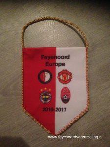 Vaan Feyenoord Europa League 2016-2017