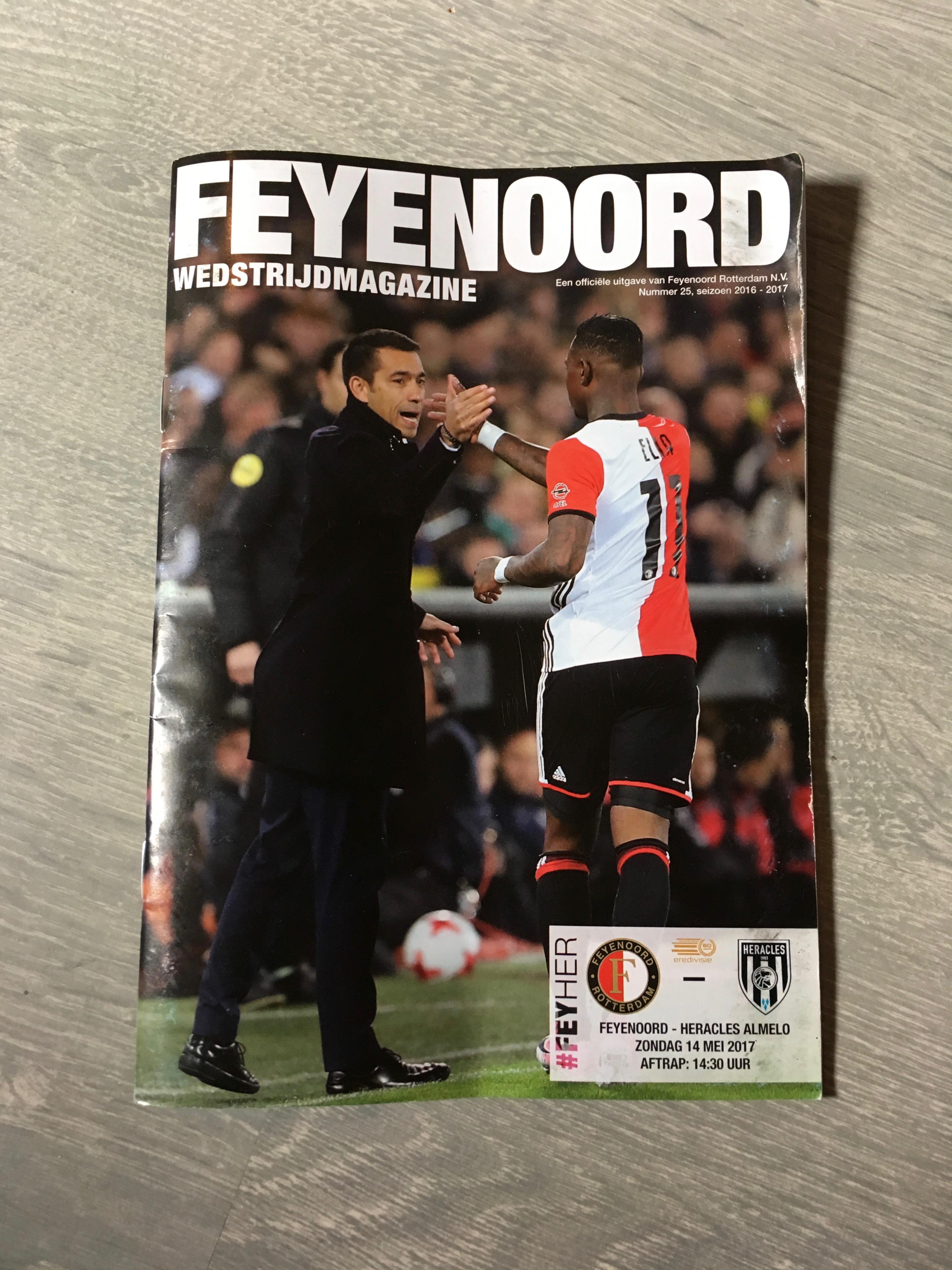 Kampioenswedstrijd Feyenoord - Heracles 14 mei 2017