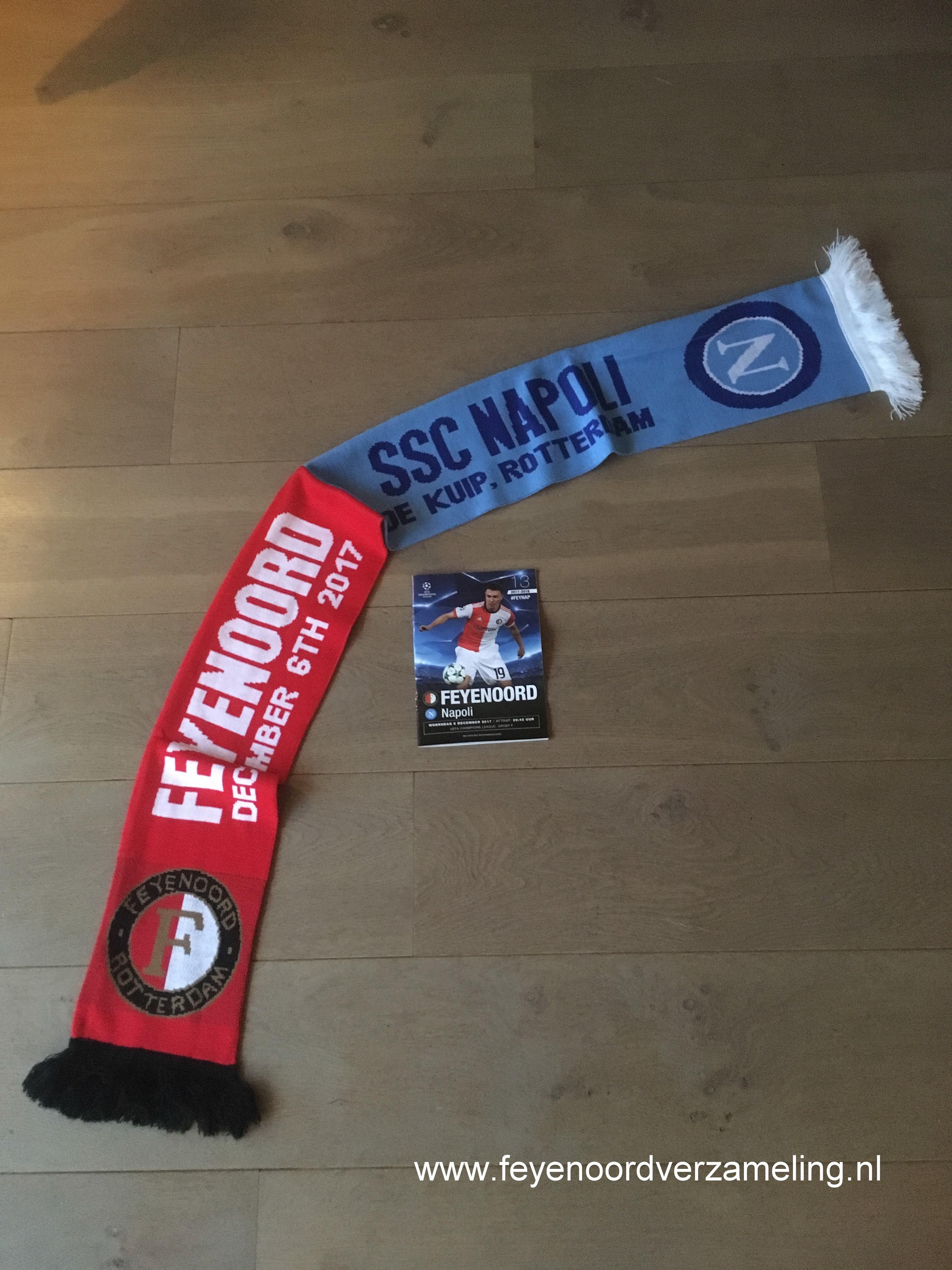 Feyenoord - Napoli CL 6-12-2017