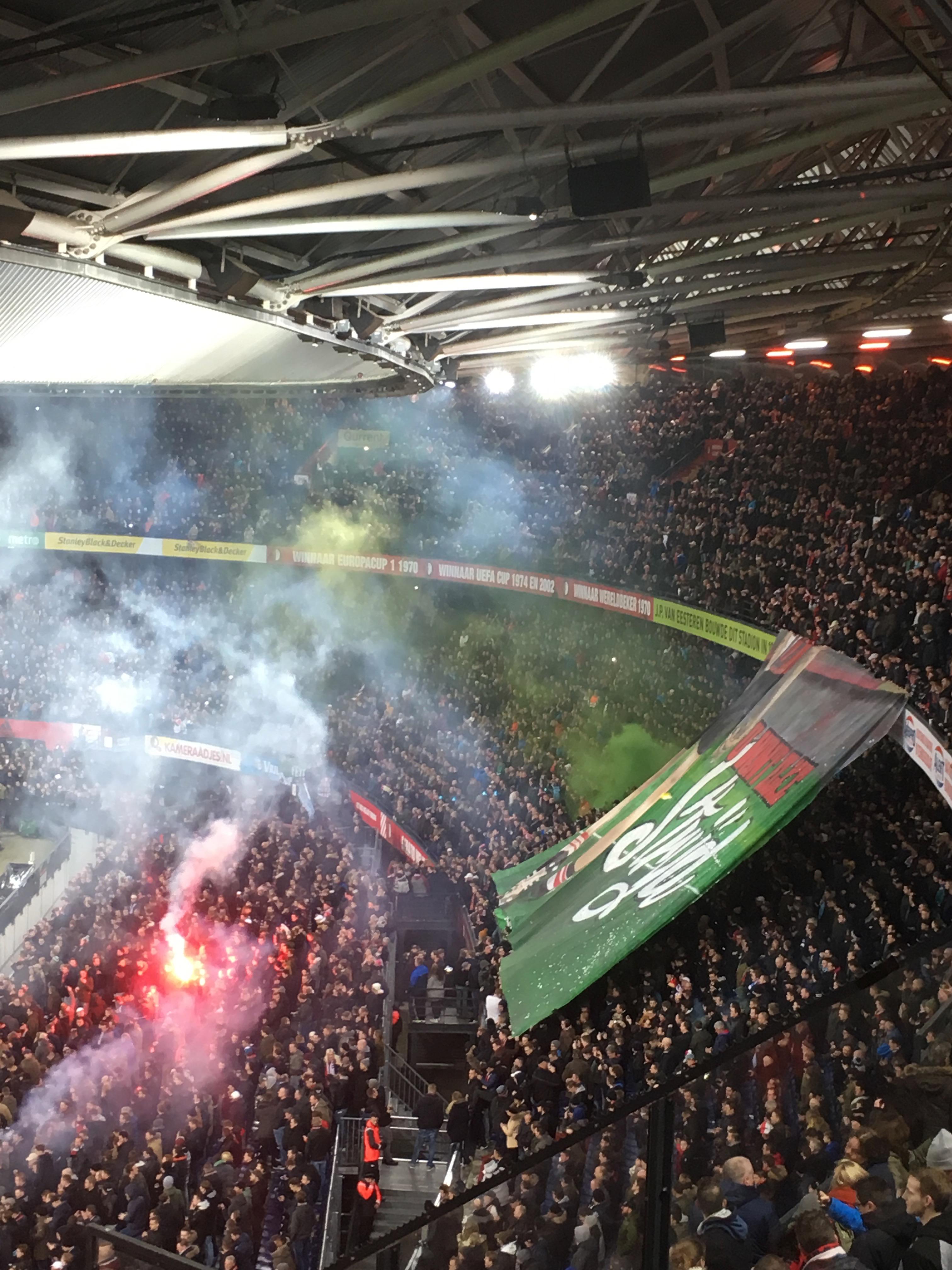 Feyenoord - PSV Beker 31-01-2017