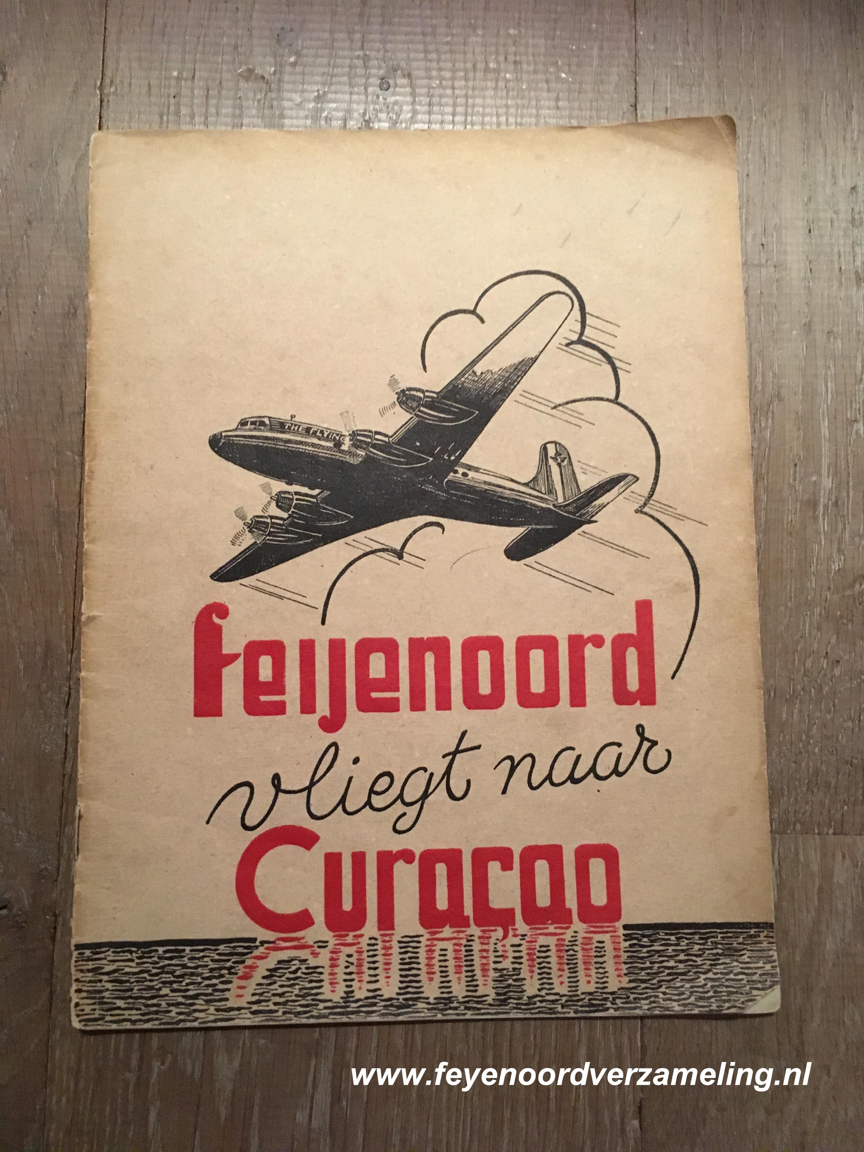 Feijenoord vliegt naar Curacao 1946